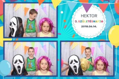 #3 - Hektor 3. születésnapja
